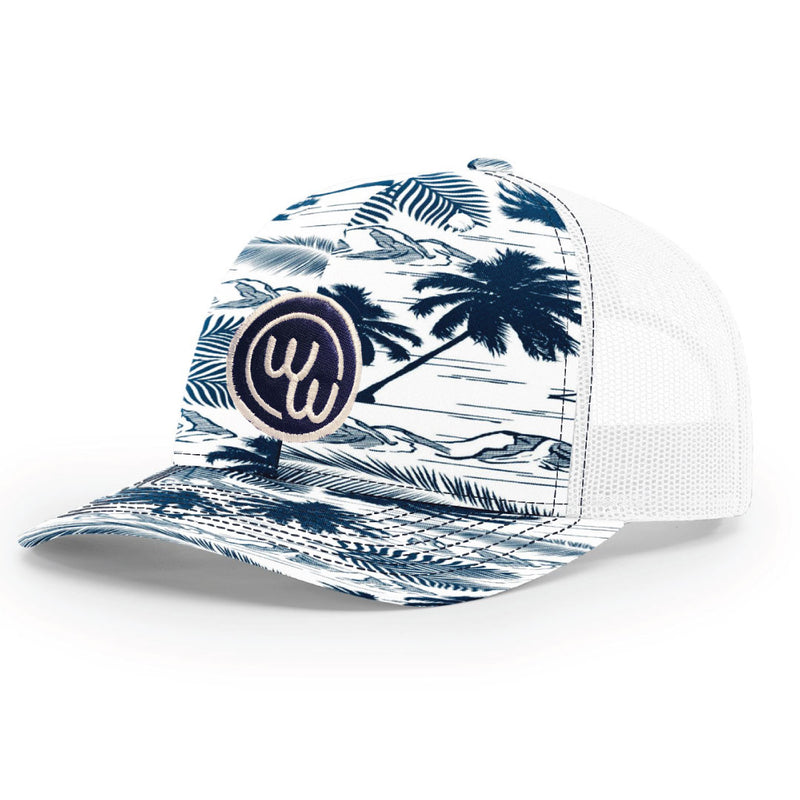 Island Patch Trucker Hat