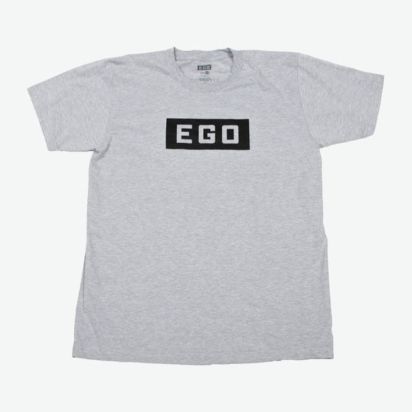 EGO Classics Logo Tee - Heather Gray/Black - EveryBodyGotOne