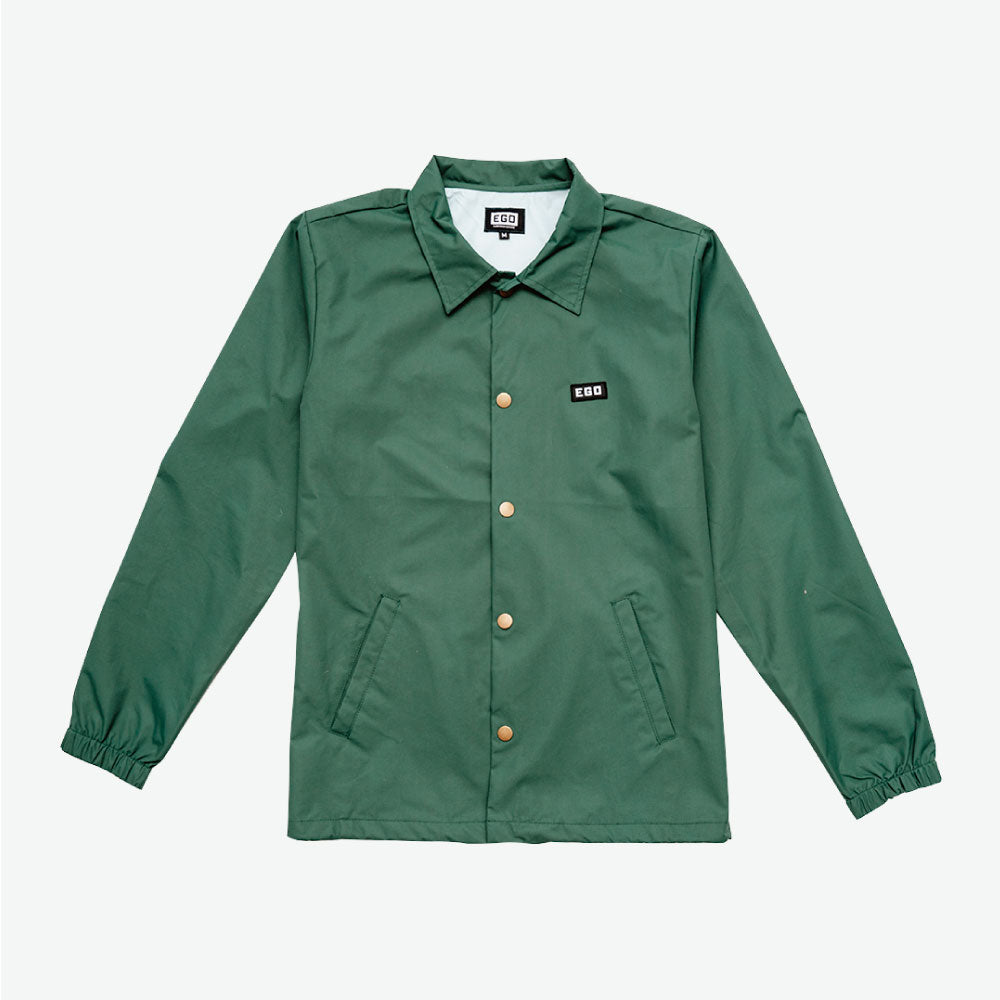 EGO CLASSIC BASAL COACH JACKET PS18 - Forest Green - EveryBodyGotOne