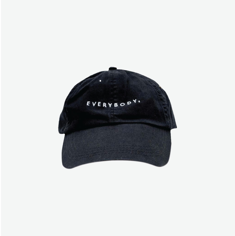 EGO CLASSIC EVERYBODY DAD HAT - BLACK - EveryBodyGotOne