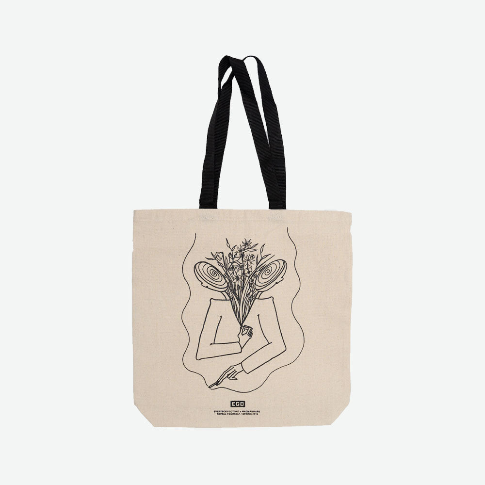 EGO Reveal Yourself Tote SPRING 2019 - Natural - EveryBodyGotOne