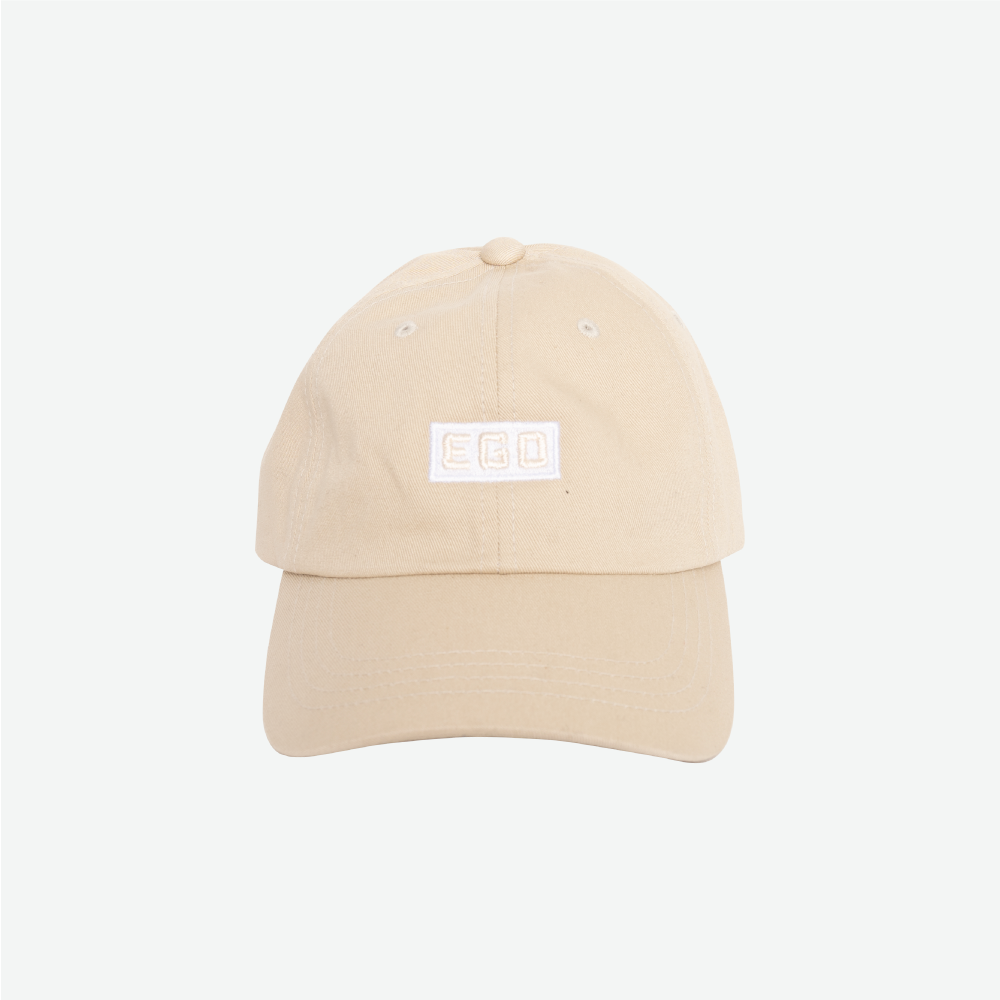 EGO CLASSIC LOGO DAD HAT SS18 - IVORY - EveryBodyGotOne