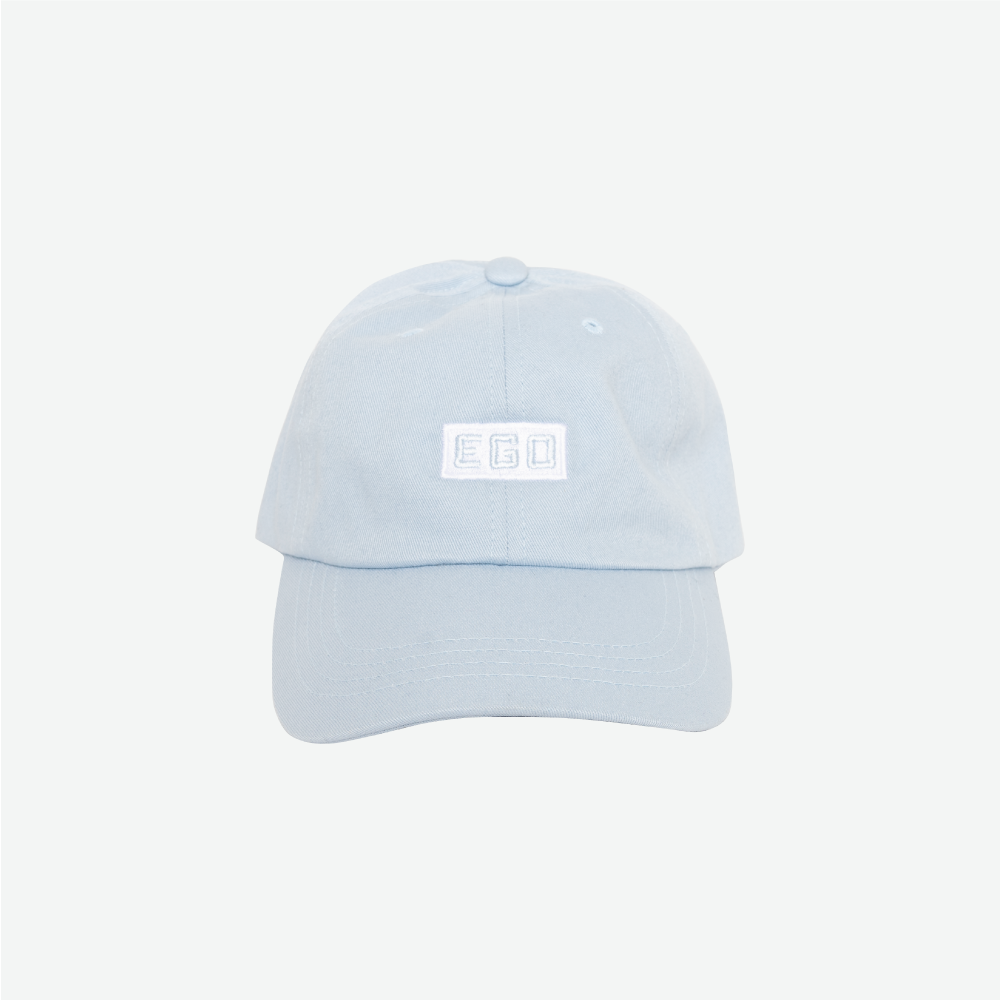 EGO CLASSIC LOGO DAD HAT SS18 - LT. BLUE - EveryBodyGotOne