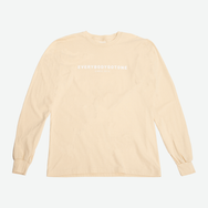 EGO CLASSIC L/S TEE SS18 - CREAM - EveryBodyGotOne