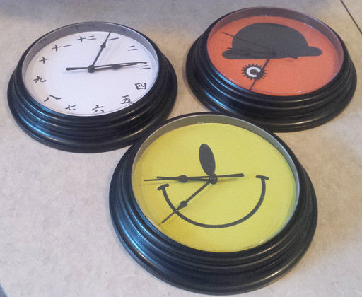 How to customize a dollar store clock in 20 minutes!