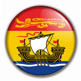 The Button Store New Brunswick Custom Buttons Flag Magnets Canada