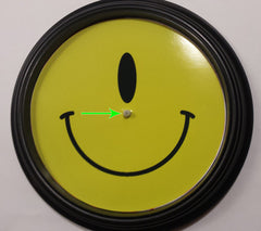 The Button Store • Montreal • Canada • Personalized dollar store clock in 20 mins!