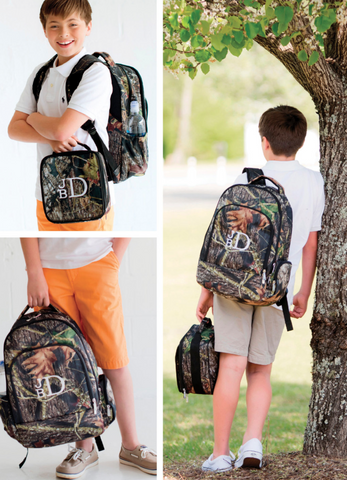 Woods Elementary/Middle School Backpack, Lunchbox & Pencil Case--Save $10 W/Set