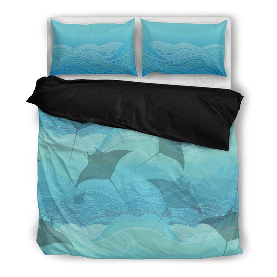 Manta Waters Bed Set - Duvet and Pillow Covers