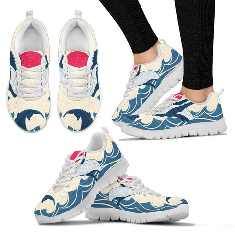 Image of Humpback Whale Sneakers