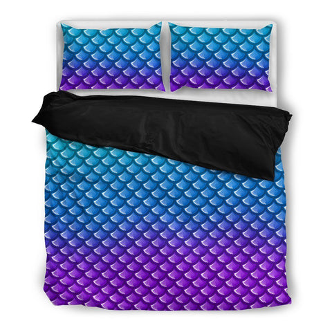 Mermaid Bed Set Duvet and Pillow Covers