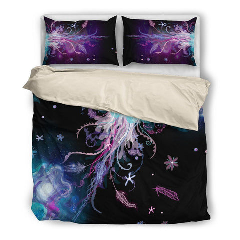 Image of Jellyfish Wonderland Bed Set - Duvet and Pillow Covers