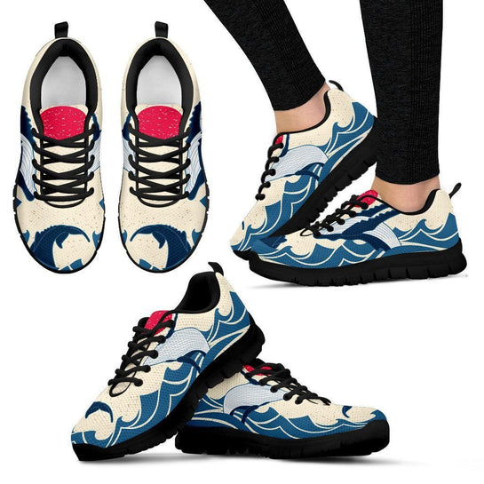 Humpback Whale Sneakers