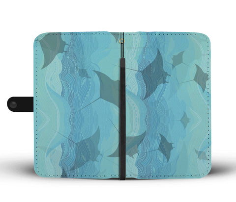 Manta Waters Phone Wallet Case