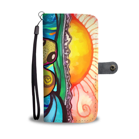 Turtle Paradise Phone Wallet Case