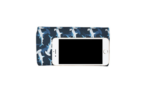 Blue Hammerhead Shark Women's Wallet
