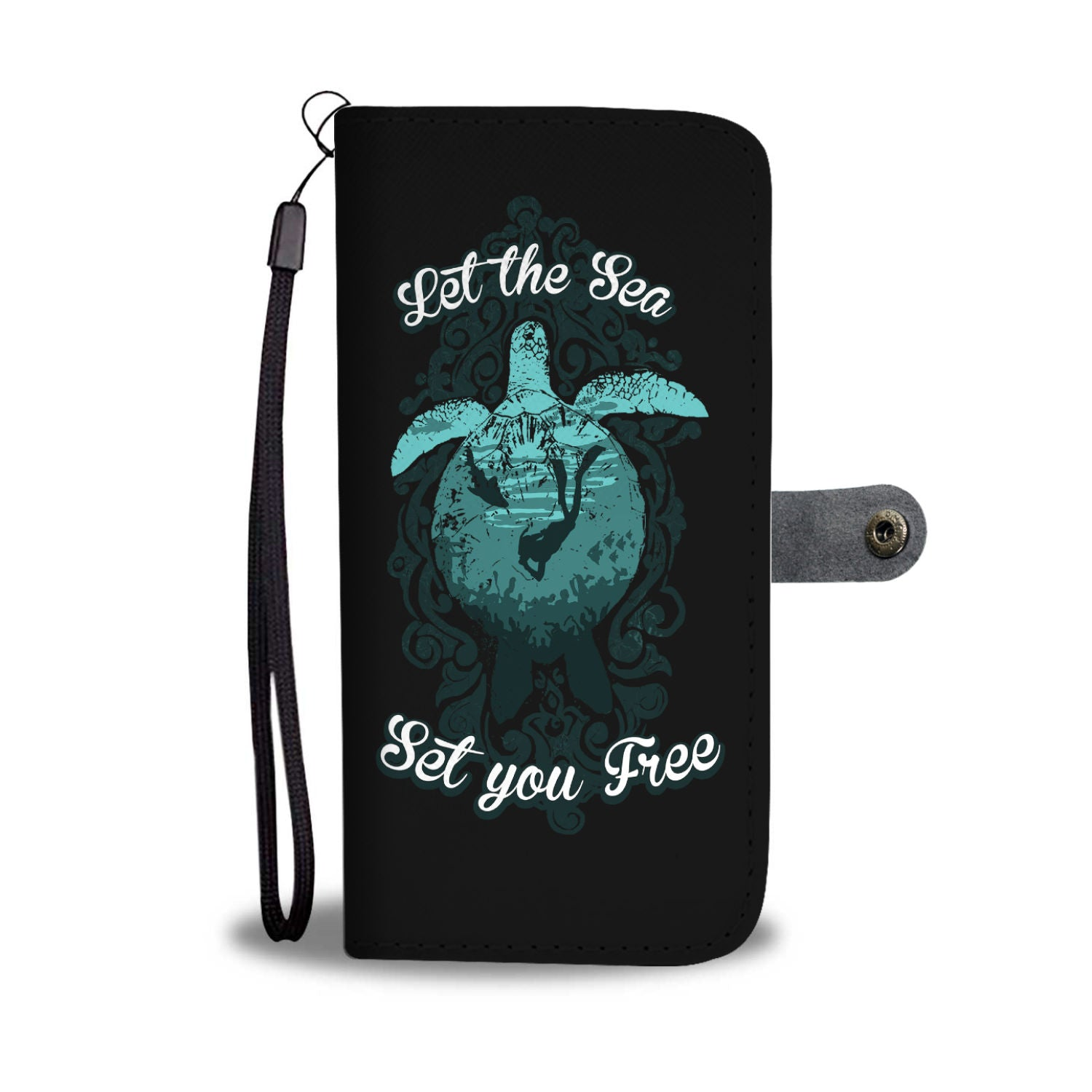 Let The Sea Set You Free Phone Case Wallet
