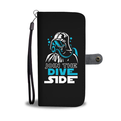 Join The Dive Side Phone Wallet Case