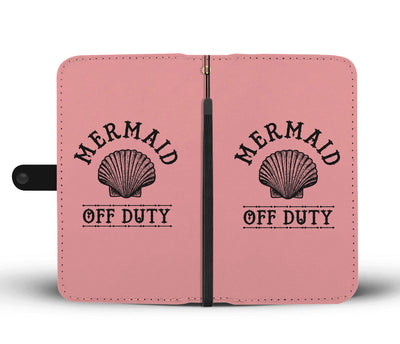 Mermaid Off Duty Phone Wallet Case