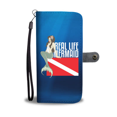 Real Life Mermaid Phone Wallet Case