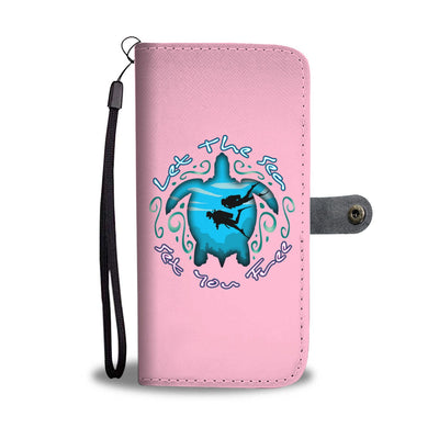 Let The Sea Set You Free Phone Wallet Case