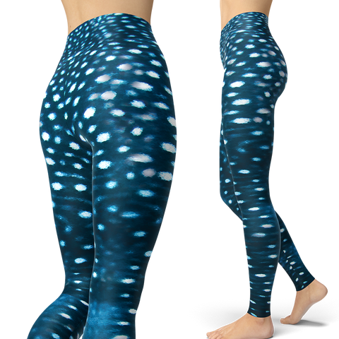 Whale Shark Leggings