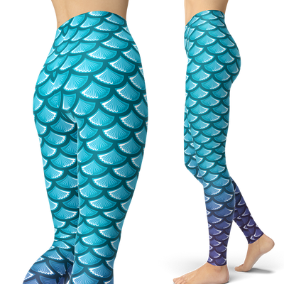 Mermaid Leggings (Warehouse)