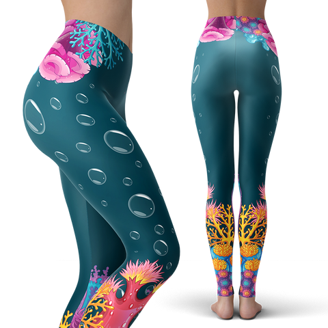 Image of Coral Leggings