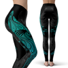 Ornamental Shark Leggings (Warehouse)