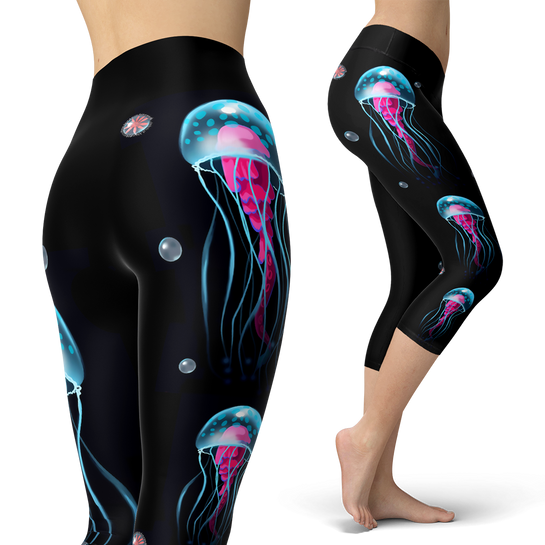 Jellyfish Wonderland Capris