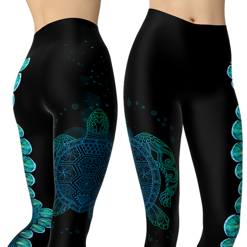 Image of Let The Sea Set You Free Capris