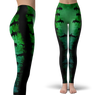 Green Hammerhead Shark Leggings