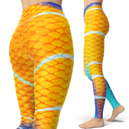 Queen Angelfish Leggings