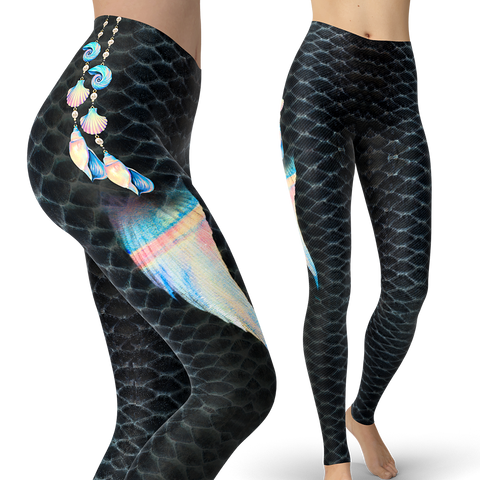 Image of Painted Shells Leggings