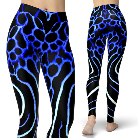 Juvenile Emperor Angelfish Leggings