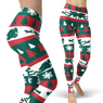 Scuba Diving Addicts' Ugly Xmas Leggings