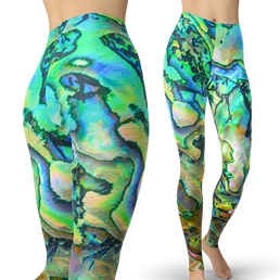 Pearl Shell Leggings