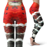 Red Wrasse Leggings