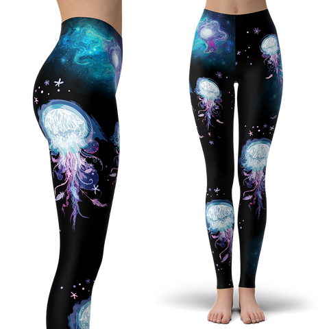 Jellyfish Wonderland Leggings