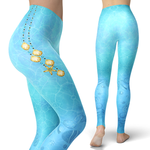 Image of Ocean Boho Leggings