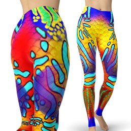 Mandarin Fish Leggings