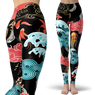 Asian Seas Leggings