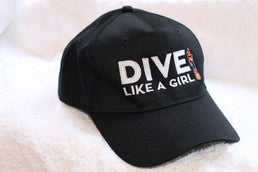 Dive Like A Girl Cap - scubadivingaddicts
