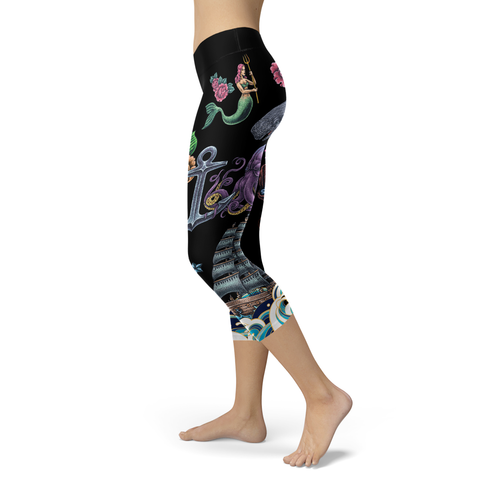 Image of Ocean Style Capris (Warehouse)