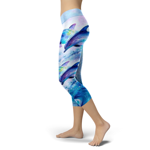 Image of Dolphins Capris