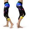 Colourful Sharks Capris
