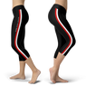 Scuba Diving Addict Black Capris