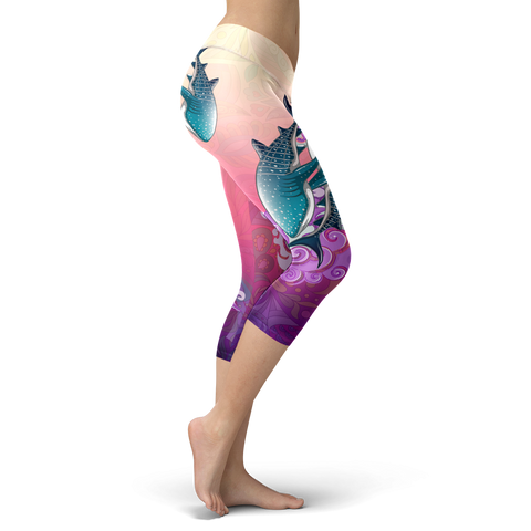 Image of Whale Shark Wonderland Capris