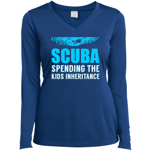 Image of Scuba - Spending The Kids Inheritance Long Sleeves