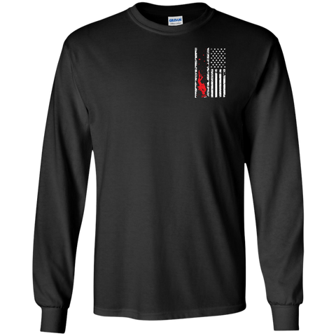 Image of Dive Flag Long Sleeves - scubadivingaddicts